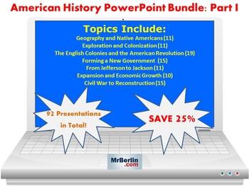 183 American History PowerPoint Presentations