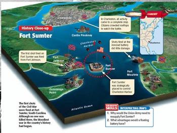 1861-The Civil War-Secession, Preparation and Sumter