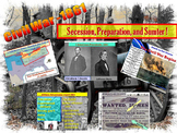 1861-The Civil War-Secession, Preparation and Sumter