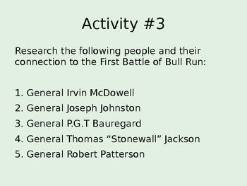 1861: The First Battle of Bull Run