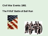 1861: The First Battle of Bull Run