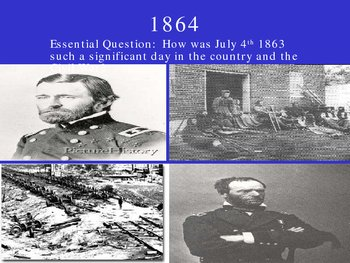 1864 the Civil war
