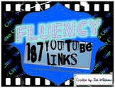 187 Fluency and Phonics- YouTube Video Links for Video Clips & Songs with Lyrics