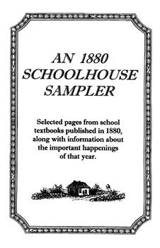 1880 Schoolhouse Sampler