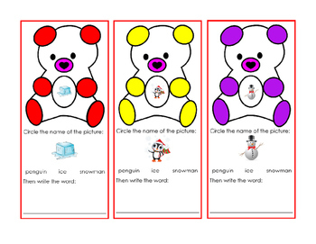 18pages Winter Theme Writing Numbers to 100 Snowman Upper Lower Alphabet Letters