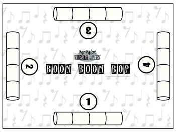 18x24 Boom Boom Bop ( 4 Way )