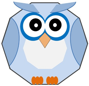 Clip Art - 19 Shape Owl in PNG & JPG for personal-commercial use
