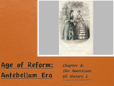 19 Century Reform in the United States Power Point