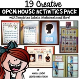19 Creative Open House Activities Pack!