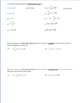 19) Parallel and Perpendicular Lines Homework Worksheets