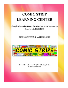 Predicting Comic Strip Learning Center Teacher Supplemental Resources