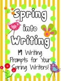 19 Spring Writing Prompts