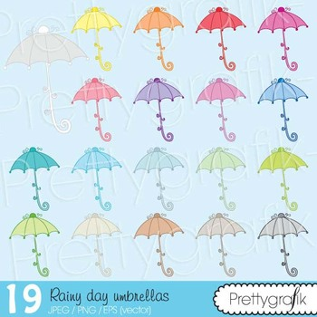 19 umbrella clipart commercial use, vector graphics, digit