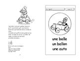 19) une balle-un ballon  - livret de lecture ENFANT C1 Mat