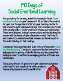 190 Days of Social Emotional Learning