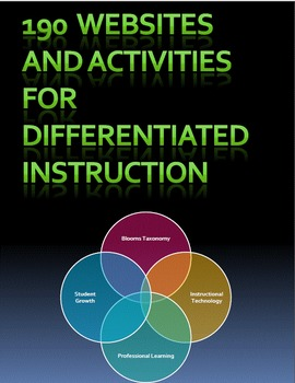 190 Websites and Activities for Differentiated Instruction
