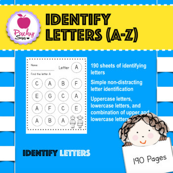Identifying Letters (A-Z, a-z, and Aa-Zz)