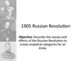 1905 Russian Revolution Powerpoint