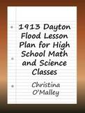 1913 Dayton Flood  Lesson Plan for High School Math and Sc