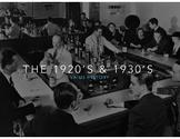 1920's & 1930's (Great Depression & Roaring Twenties) PowerPoint