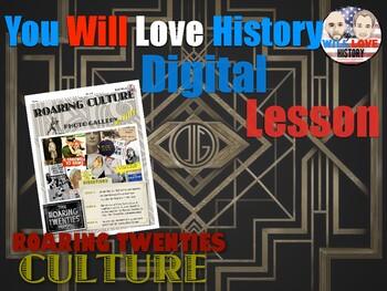 1920's Culture Gallery Walk Digital Activity