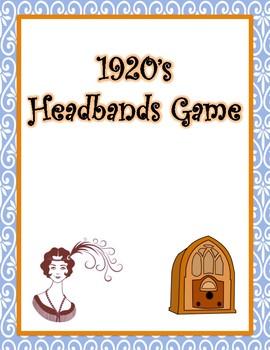 1920's Headbands Game
