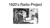 1920's Radio Simulation