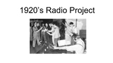 1920's Radio Simulation