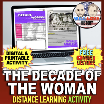 The 1920's: The Decade of the Woman Activity