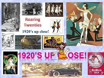 1920's in America:  Up Close