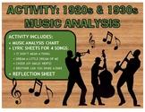"""Activity: Music Analysis - 1920s & 1930s """"Roaring Twenties"""