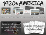 1920s America - U.S. HISTORY - visual, textual, engaging 51-slide PPT