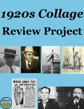 1920s Collage Project