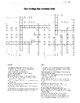 1920s Crossword Puzzle Review: Calvin Coolidge Crossword Puzzle