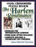 1920s Crossword Puzzle Review: Harlem Renaissance Crosswor