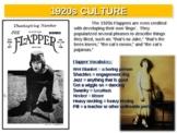 1920s - Culture