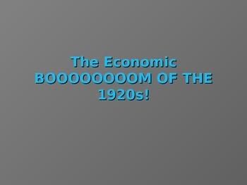 1920's Economic Aspects United States Interwar Years