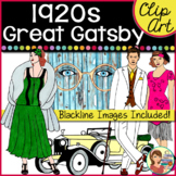 1920s Great Gatsby Clip Art