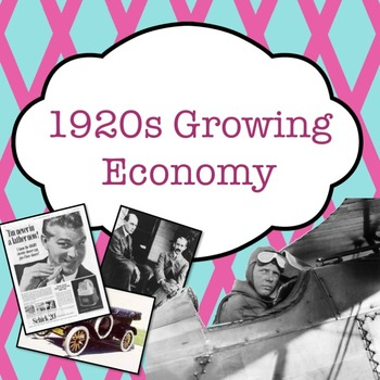 1920s Growing Economy PowerPoint