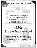 1920s Image Analysis Set - Authentic Images w/Analysis Gui