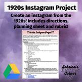 1920s Instagram Project