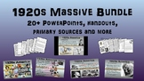 1920s: Massive U.S. History Bundle (20 PPTs, Primary Sources & much much more)
