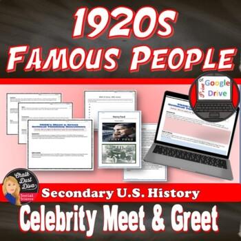 "1920's ""Meet & Greet"" – Popular Culture of the Twenties - Print & Digital"