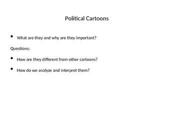 1920s Political Cartoon Analysis PPT