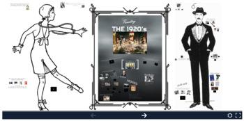 1920s Prezi + Google Slides Presentation