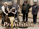 Prohibition PowerPoint 1920s