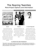 1920s Research Project
