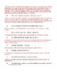 1920s Roaring, Great Depression, New Deal Review sheet with Answer Key