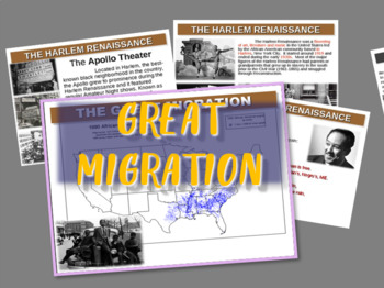 1920s - The Great Migration (and the Harlem Renaissance)