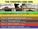 US HISTORY -1920s - The Roaring 20s - 75 slides ... HIGHLY VISUAL